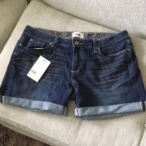 NWT Paige Grant Mid Rise Boyfriend Shorts